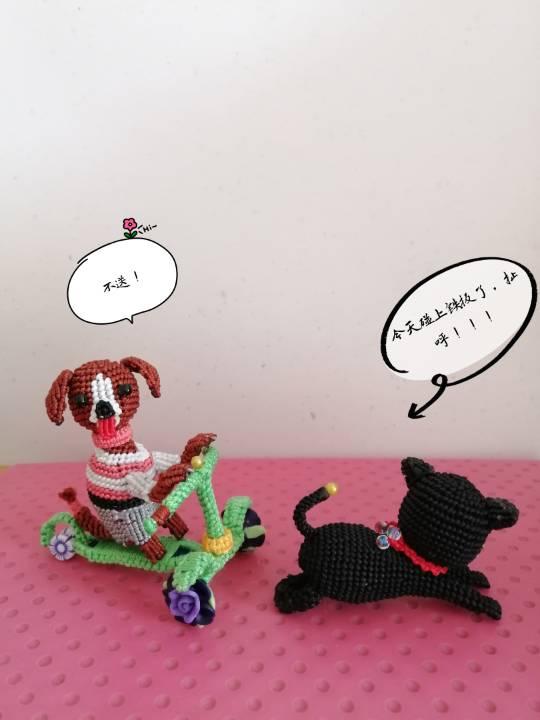 中国结论坛 狗子趣事 狗狗跟我的有趣事,与狗狗相处趣事,小狗有哪些趣事,有关狗的趣事 立体绳结教程与交流区 155929hmr8s8rzsifvx8av