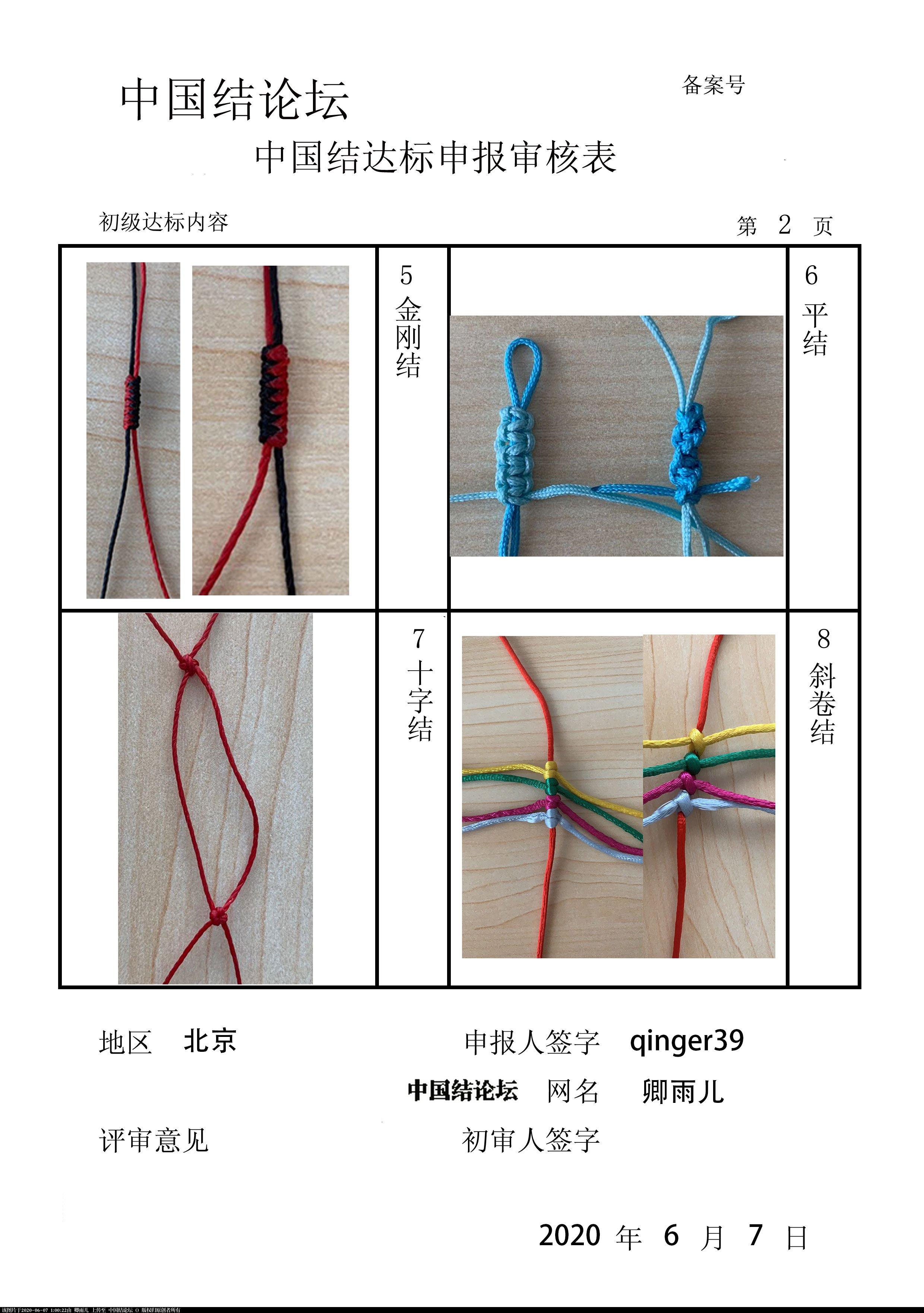 中国结论坛 qinger39-初级达标申请稿件 自备稿件《我》,安全小稿件,宣传稿件,稿件大全,安全稿件 中国绳结艺术分级达标审核 005831jxbl6l0ll2for2xw