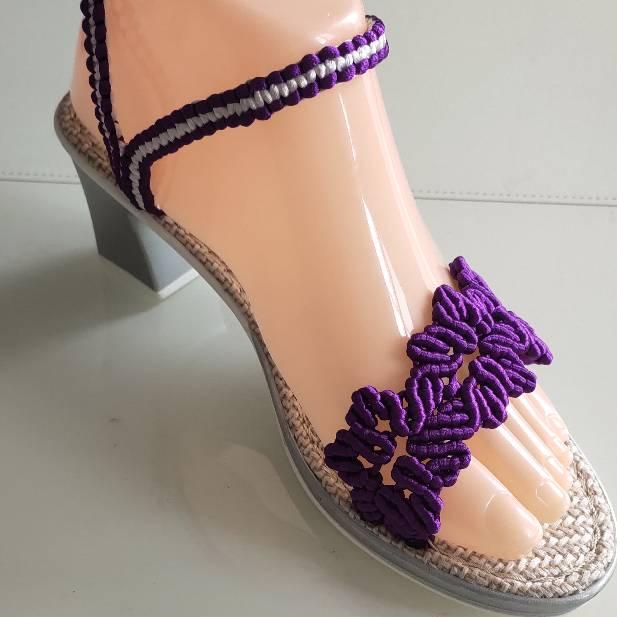 中国结论坛 中国结五号线凉鞋 五号线可以编什么挂件,五号线编织简单的物件,五号线可以用来编什么,五号线编手链的步骤 作品展示 142439ud6m9h68xumz6sh8