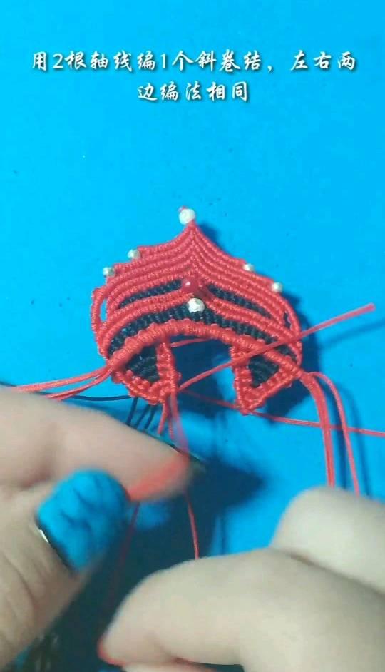 中国结论坛 小狐狸毛衣链项链编织教程2  图文教程区 163410hjv71scp81s7z379