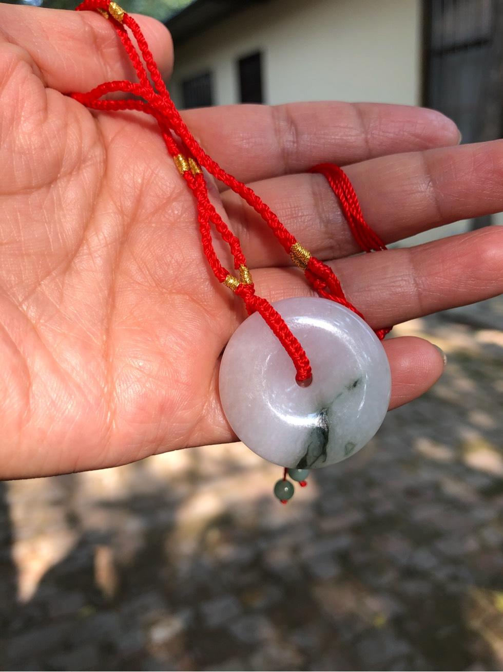 中国结论坛 简单红绳吊坠  作品展示 153909lch55hih5nk5hyw7