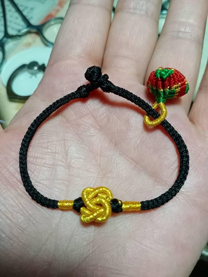 中国结论坛 同心结手链,小粽子  作品展示 222105walxallao77haxro