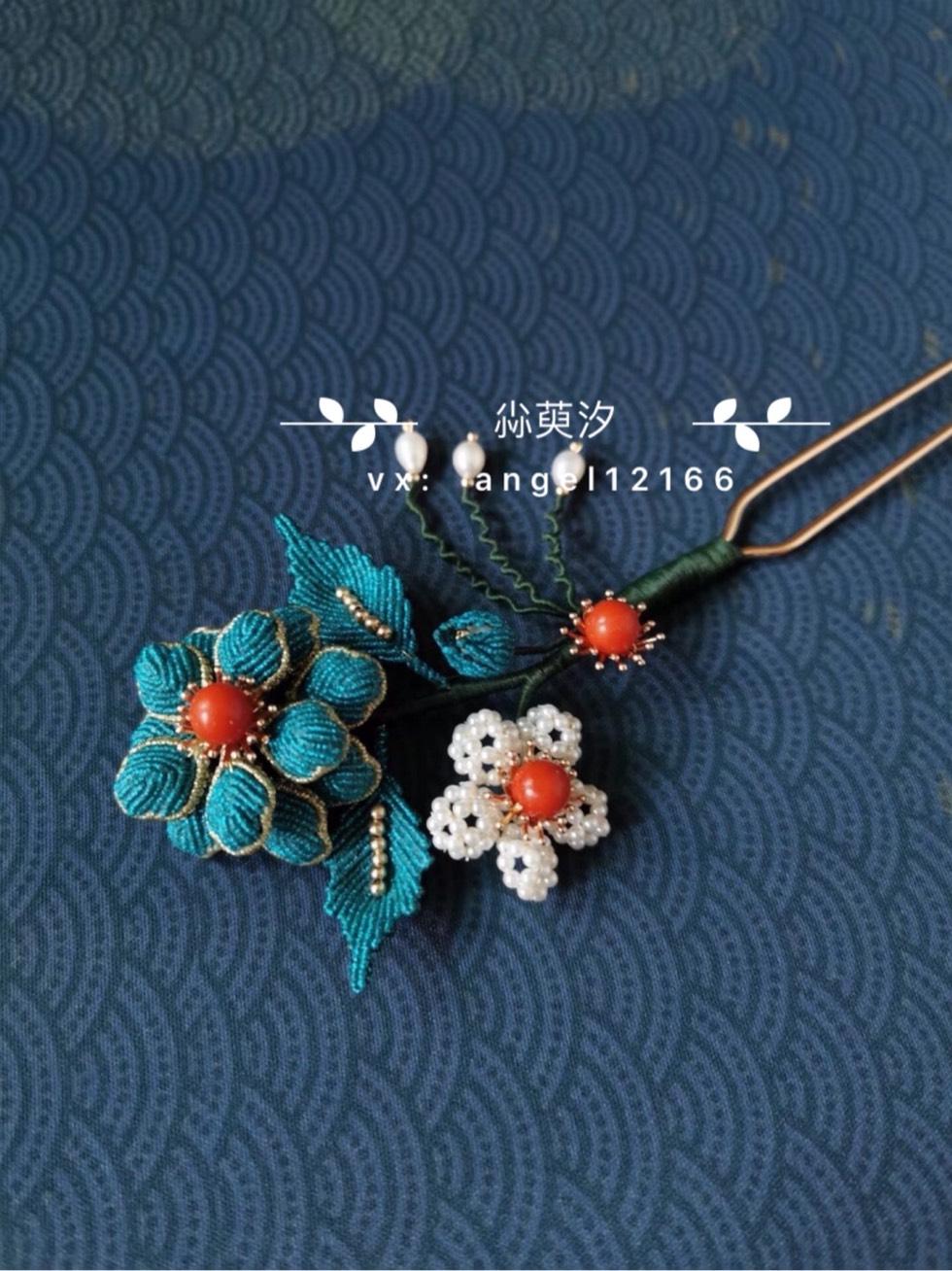 中国结论坛 仿点翠花簪系列 系列,翠花,点翠 作品展示 163809bu14k9r21ii1u9uk