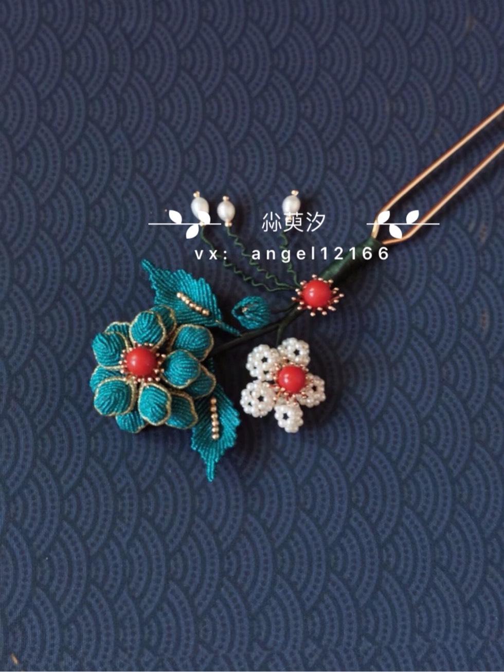 中国结论坛 仿点翠花簪系列 系列,翠花,点翠 作品展示 163812n7d7vss7plgsnjdw