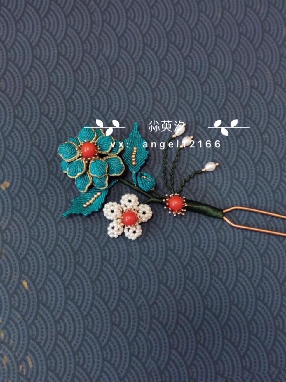 中国结论坛 仿点翠花簪系列 系列,翠花,点翠 作品展示 163817eeyi7khixrkhek3k