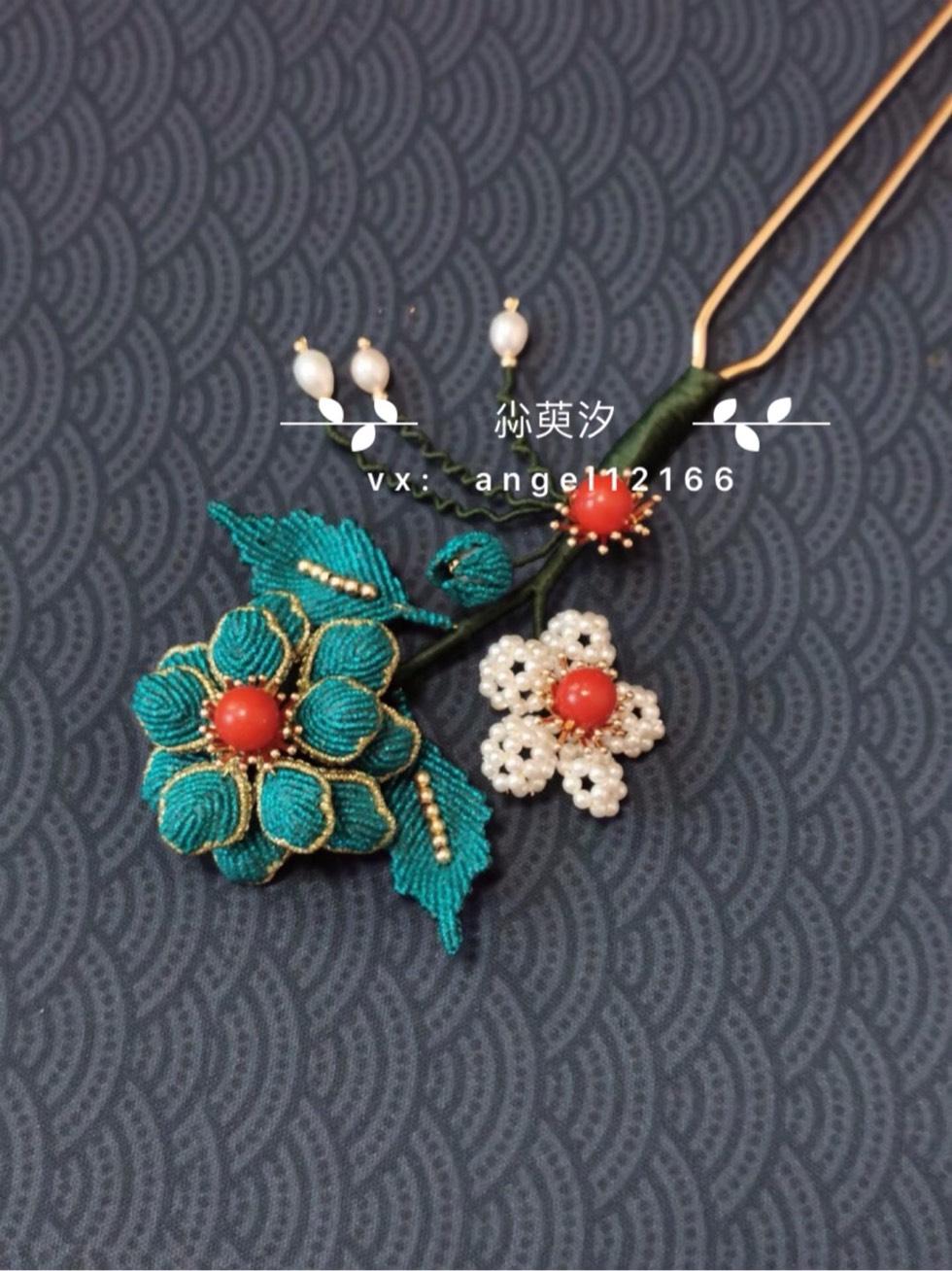 中国结论坛 仿点翠花簪系列 系列,翠花,点翠 作品展示 163818urtzuses7tttotz7