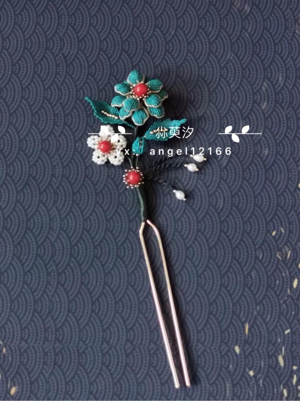 中国结论坛 仿点翠花簪系列 系列,翠花,点翠 作品展示 163824wvvjiizijqrn7xq0