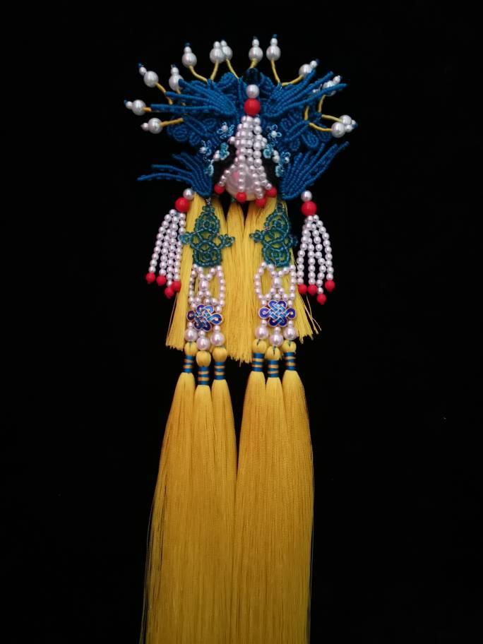 中国结论坛 原创绳结挂件京剧系列之凤冠 系列,凤冠,京剧,挂件,绳结 作品展示 170419hoq8imeozz8f5crq
