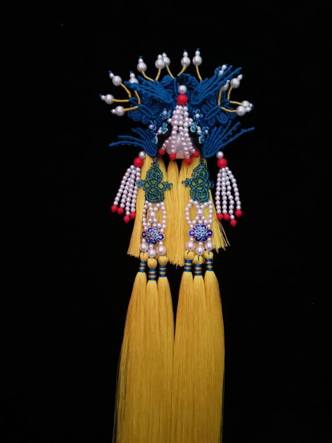 中国结论坛 原创绳结挂件京剧系列之凤冠 系列,凤冠,京剧,挂件,绳结 作品展示 170420osqrzg7gsv7udovg