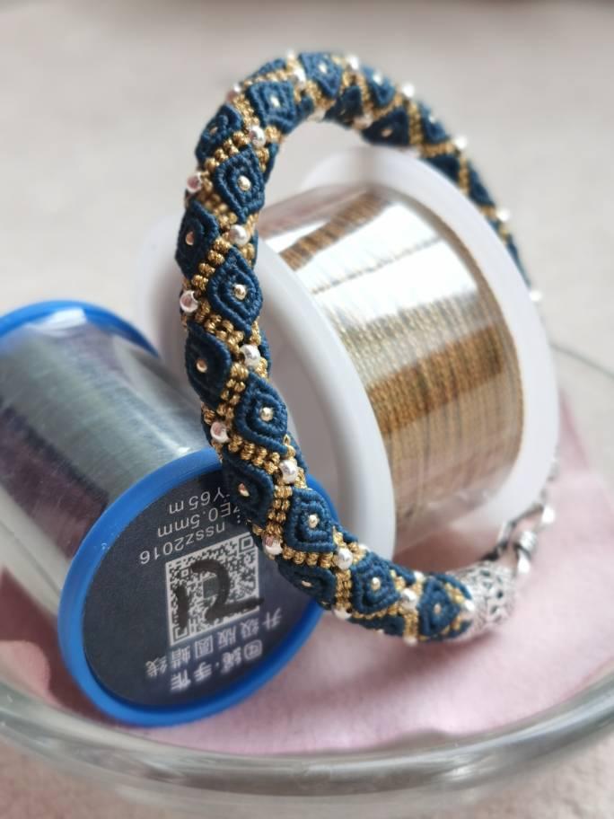 中国结论坛 串珠手镯 珠子编织教程大全图解,旋转米珠串珠手链教程,米珠手镯串珠图解,珠子手工制作大全,手镯串珠编织教程 作品展示 182714egvygvuz557p9uvc
