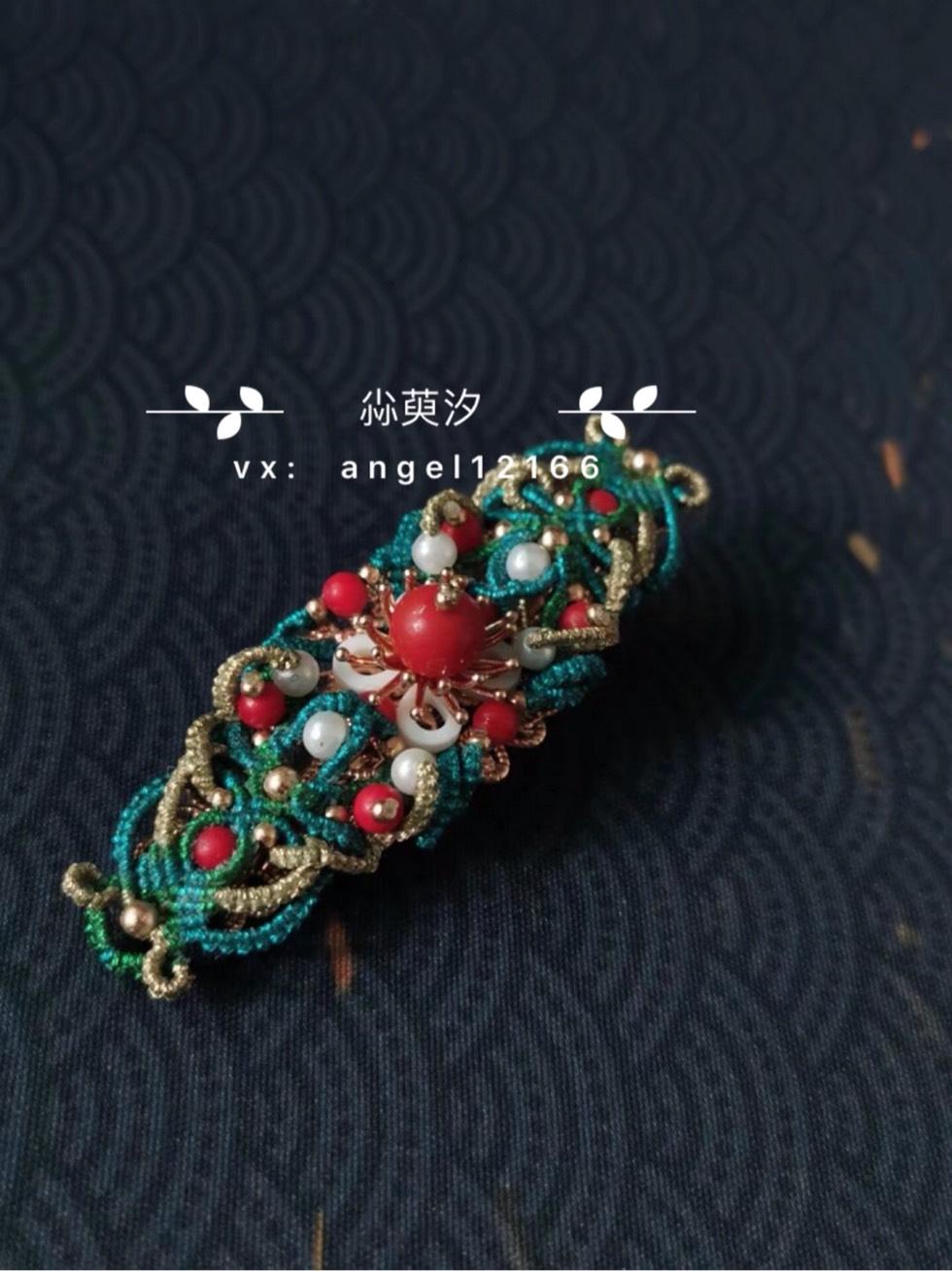 中国结论坛 古风款发夹 古风蝴蝶结发夹 作品展示 154051df8r09o8sol8l4vl