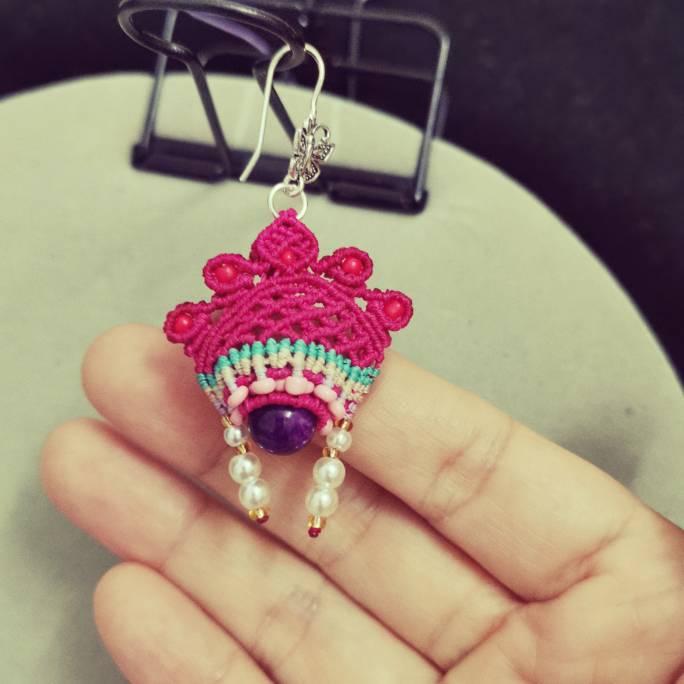 中国结论坛 仿的小花嫁耳环 耳环,花嫁,小花 作品展示 224902niuhrnc33nr35nl9