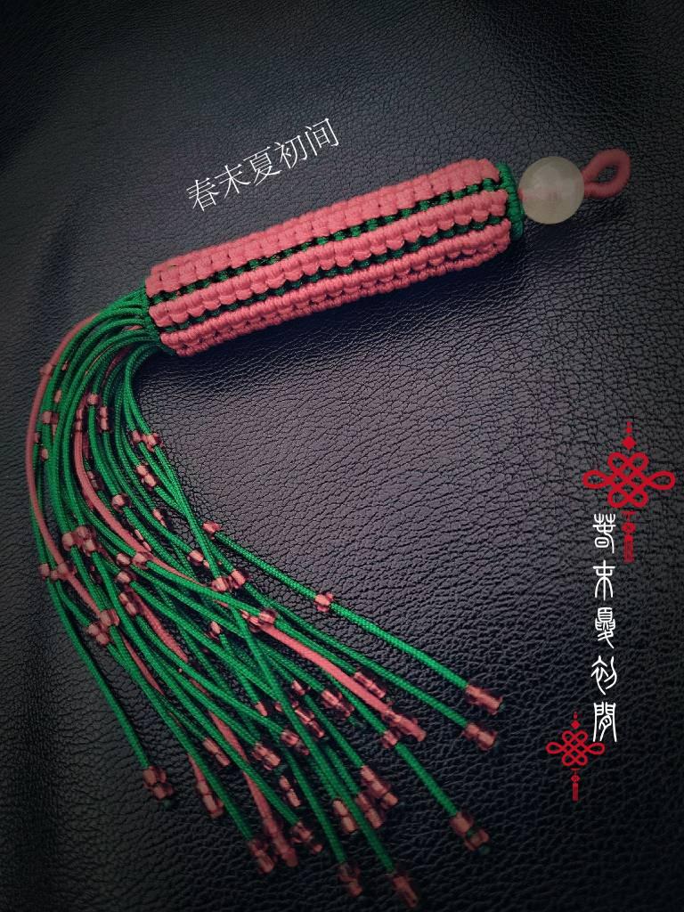 中国结论坛 《簇锦经筒》 转经筒,转经筒教程,小挂饰 图文教程区 183204dmdhctejrdjzc0md