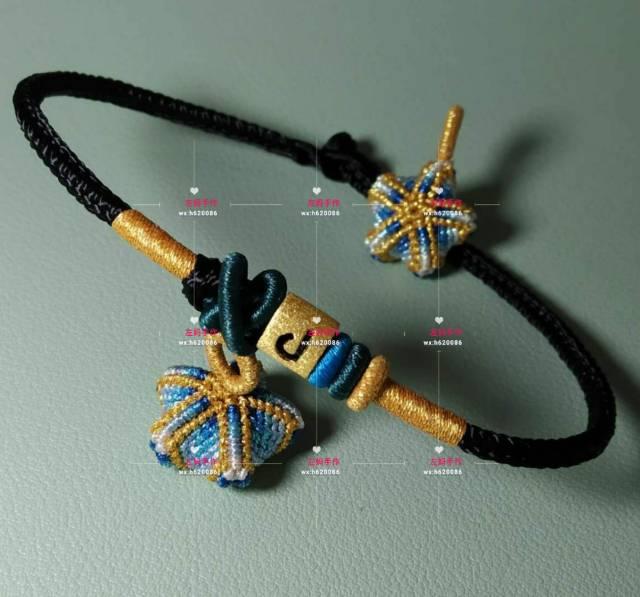 中国结论坛 幸运五角星 五角星,手链,蜡线 作品展示 132906bezk6qtkg4qpbtce