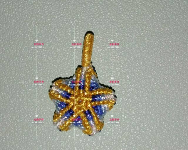 中国结论坛 幸运五角星 五角星,手链,蜡线 作品展示 132908wsmjsf21bjbjofi1