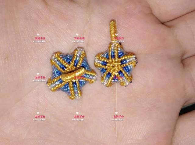 中国结论坛 幸运五角星 五角星,手链,蜡线 作品展示 132908wss2whsbm2k407mh
