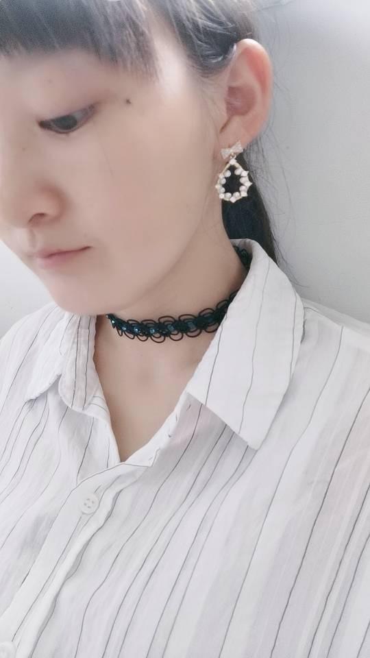 中国结论坛 蕾丝颈链 手工编织蕾丝项链,蕾丝项链怎么戴,颈链款式,手工编蕾丝镂空颈链,男士颈链 作品展示 224356kxexl8zul1euwnnl
