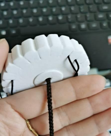 中国结论坛 盘扁六股圆辫 盘编器编各种绳的方法,二根绳子各种编法图解,六股麻花辫编法图解 作品展示 171556mu0sx0r0o0pspsux