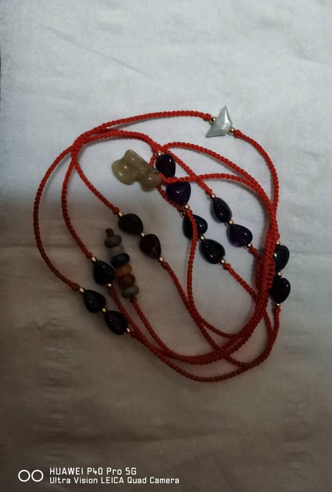 中国结论坛 紫水晶腰链 红绳腰链,腰链 作品展示 013944f3e1t19mc3lh368c