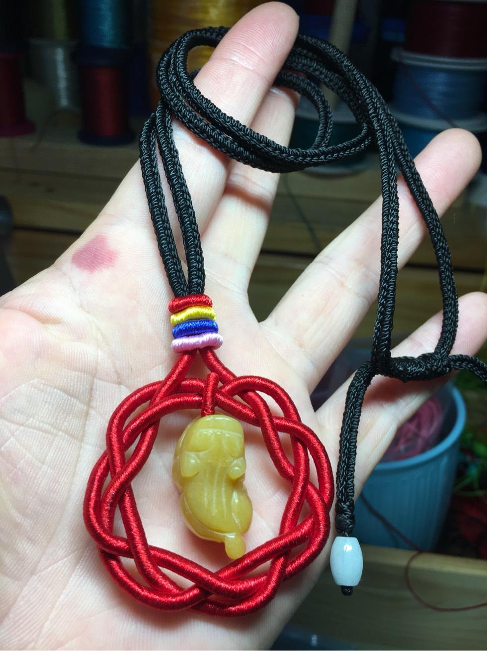 中国结论坛 大家好呀 项链绳,双钱结,项链 作品展示 094432bytphrsrzaytpa8c