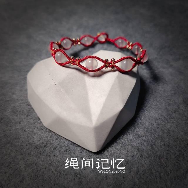 中国结论坛 简单好看消耗散珠手链 手链,佛珠收尾打结方法图解,散珠手链编织教程视频,珠子手链教程图解,靠谱的水晶散珠店铺 作品展示 085318vv1izv91eyekh9pk