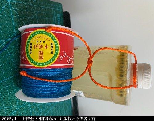 中国结论坛 油瓶结 油平结打法,油瓶结的打法图解,用绳子吊油瓶,油瓶扣的打法,古代老油瓶大全 图文教程区
