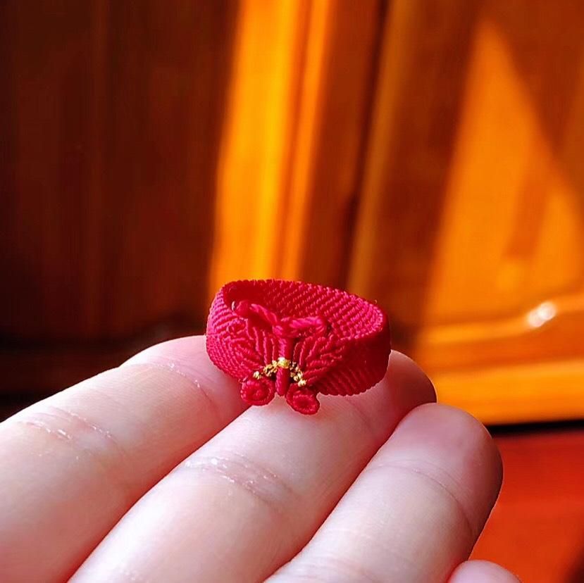 中国结论坛 【无痕戒指】 编织无痕戒指,一根绳子编法大全简单,编戒指步骤图 作品展示 170219z34vyq0ugj49izez