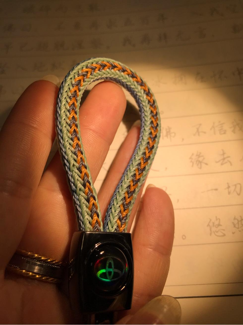 中国结论坛 蜡线钥匙扣 蜡线有什么用,手绳用蜡线还是玉线,蜡线哪种好,蜡线怎么脱蜡,蜡线包石头编织教程 作品展示 222630f3wa8yrz68wb2bwm