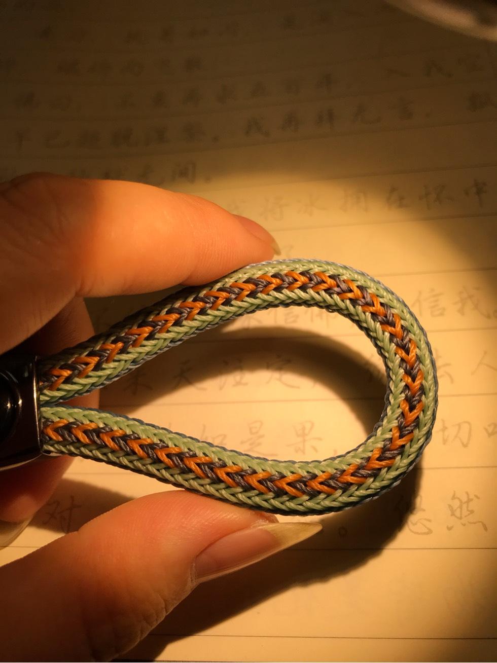 中国结论坛 蜡线钥匙扣 蜡线有什么用,手绳用蜡线还是玉线,蜡线哪种好,蜡线怎么脱蜡,蜡线包石头编织教程 作品展示 222631y51rzm6nx56lnzot
