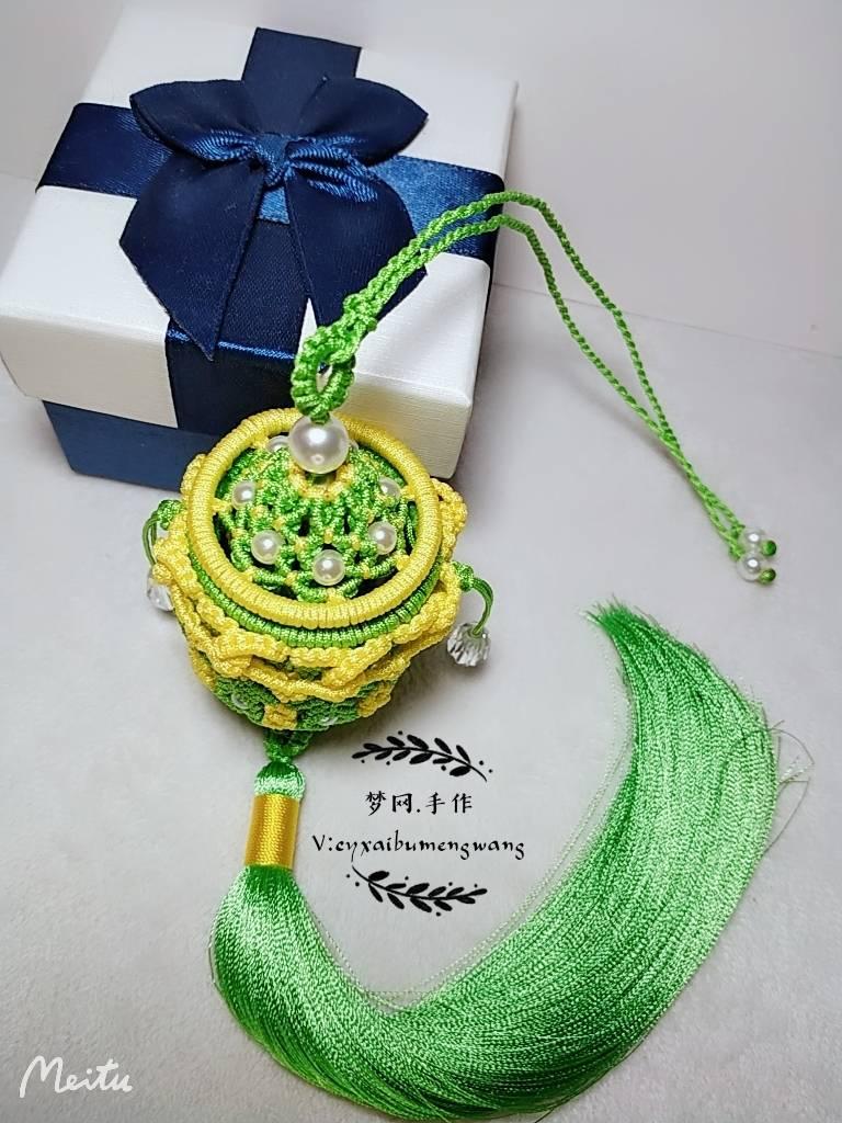 编绳香囊编织方法教程,香囊制作方法