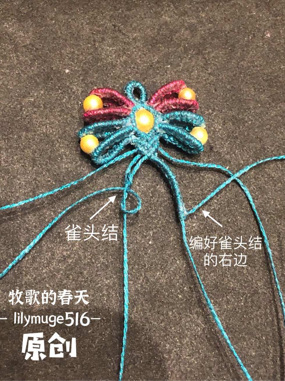 中国结论坛 原创 小蝴蝶教程 教程,蝴蝶手工折纸步骤图,小蝴蝶花朵的钩法视频,小蝴蝶怎么做手工,手工编织小蝴蝶教程 图文教程区 102539zs2xlax1xvsxspbn