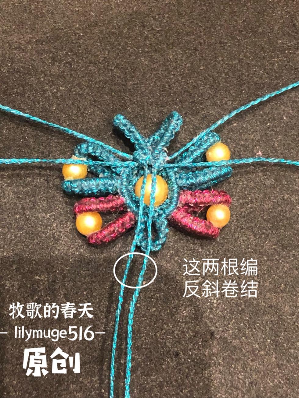 中国结论坛 原创 小蝴蝶教程 教程,蝴蝶手工折纸步骤图,小蝴蝶花朵的钩法视频,小蝴蝶怎么做手工,手工编织小蝴蝶教程 图文教程区 102544o860hsxsi3eie8p3