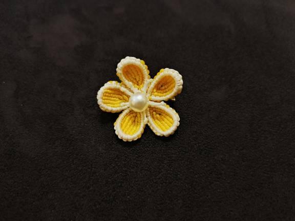 中国结论坛 唯独没有粉色的小桃花胸针 有没有白色有没有粉色,粉色的桃花白色的柳叶 作品展示 180005lt11aan1bt9q9tat