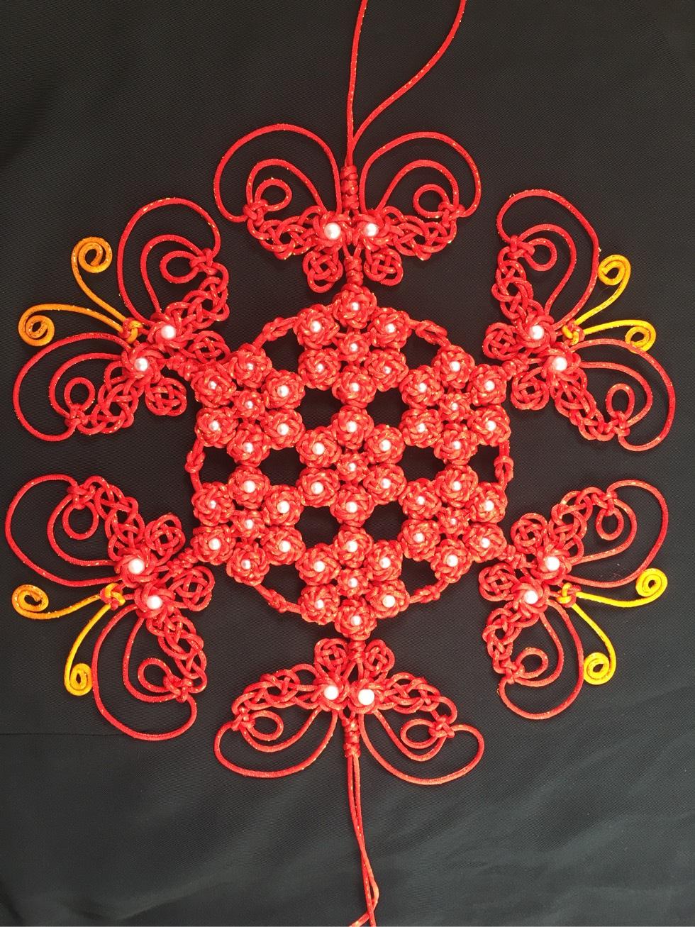 中国结论坛 锁结变化组合(三头六瓣、四头八瓣、六头十二瓣藻井结) 六瓣花有哪些,六瓣的金刚 作品展示 201214i3vsmimmfnd13jda