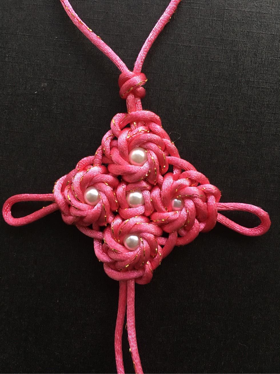 中国结论坛 锁结变化组合(三头六瓣、四头八瓣、六头十二瓣藻井结) 六瓣花有哪些,六瓣的金刚 作品展示 201218o3iqiechrx2myiih