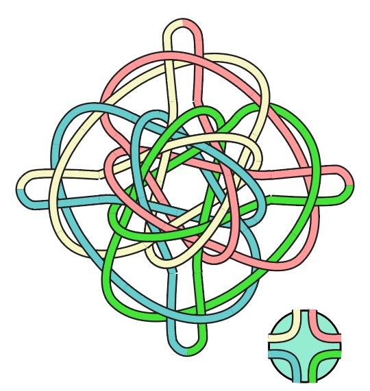 中国结论坛 锁结变化组合(三头六瓣、四头八瓣、六头十二瓣藻井结) 六瓣花有哪些,六瓣的金刚 作品展示 201219qpc9vvkupwznu9w9
