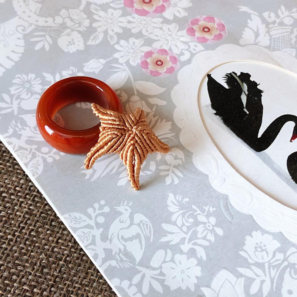 中国结论坛 【小海星】 五角,海星,斜卷结,小物件 作品展示 141826t1qk0577w9rxrjy1