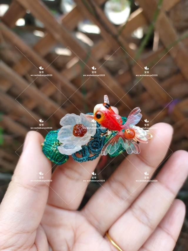 中国结论坛 糖心荷花金鱼发夹 荷花,金鱼,发饰 作品展示 163023do0rorohsryb0n0e