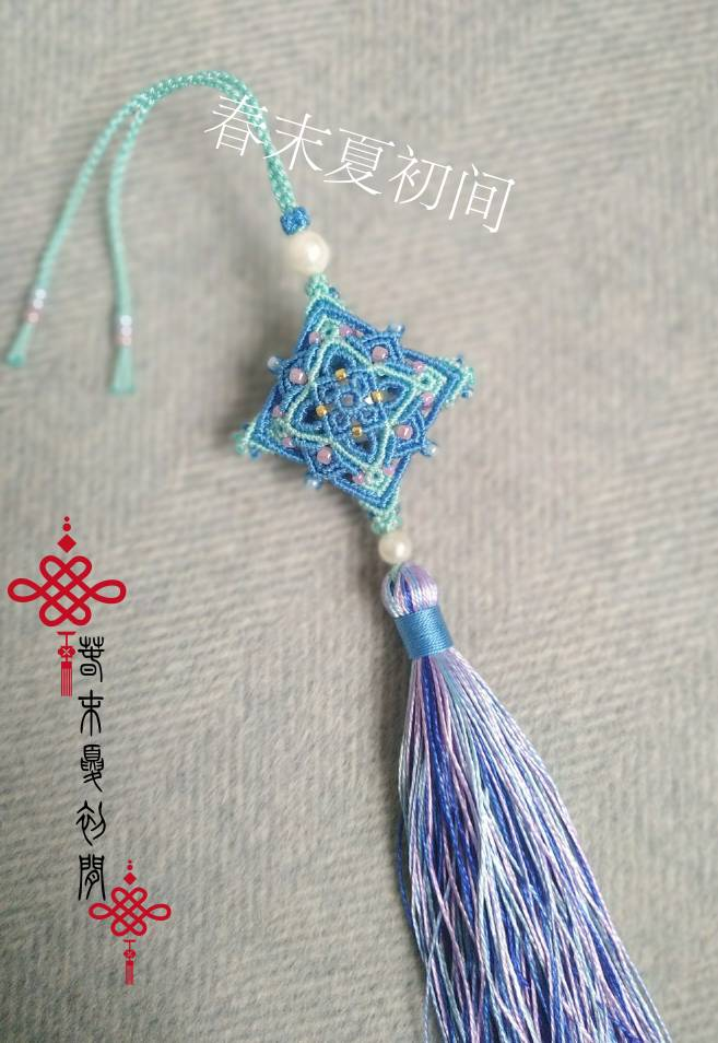 中国结论坛 《洛染》香包系列挂件 镶珠,香囊 作品展示 120935unqmmrvykwxqjqqx