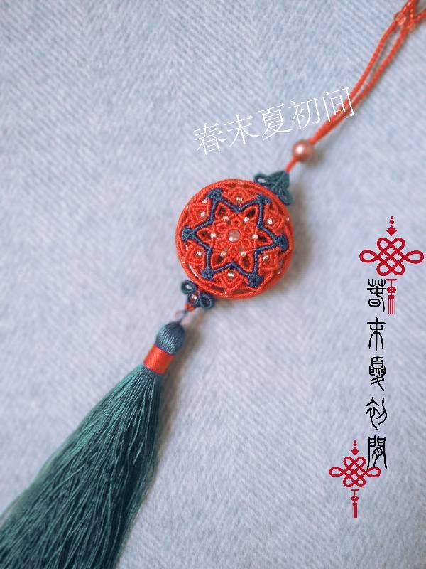 中国结论坛 《洛染》香包系列挂件 镶珠,香囊 作品展示 120937z3kak3892ubltcaz