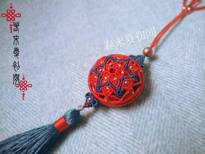 中国结论坛 《洛染》香包系列挂件 镶珠,香囊 作品展示 120943iojynd2toh5xthkg