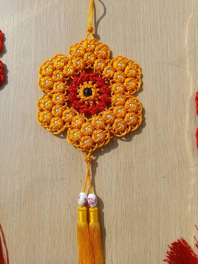 中国结论坛 练习练习, 冰花结,冰花结挂饰 作品展示 122423km523zv2mxjok3nr