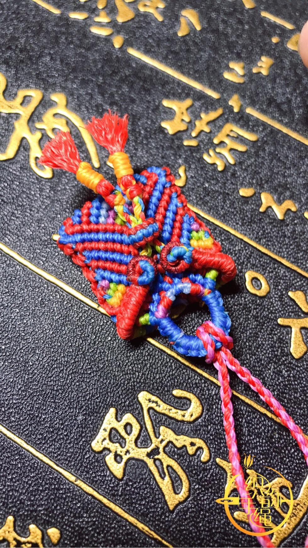 中国结论坛 祥云纳福小口袋,宝宝胎发首选! 包包,小挂件 作品展示 174055wfq4lm1zqrh0z1qz