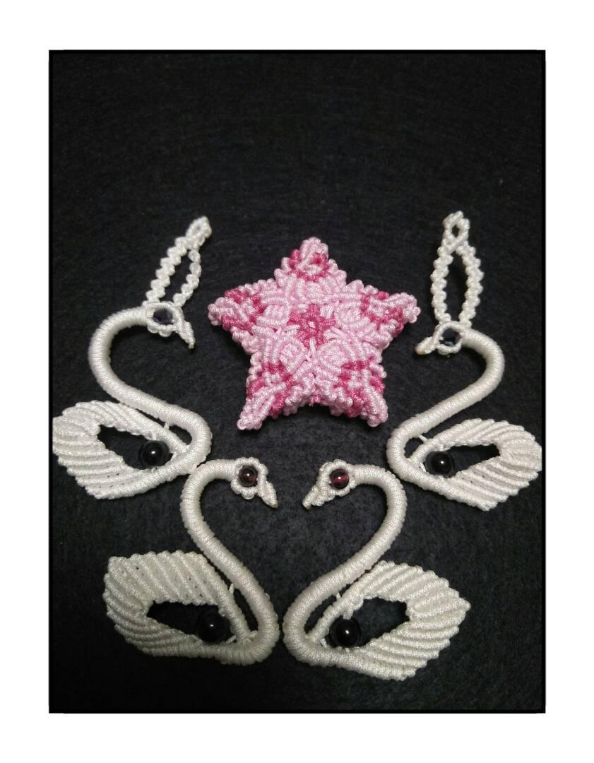 中国结论坛 小挂件 镶珠,五角,天鹅 作品展示 235306h4td0qsq704z05qx