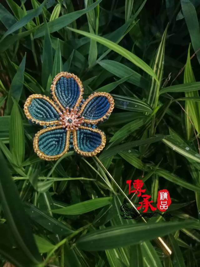 中国结论坛 学编了款胸针 胸针,花卉,五角 作品展示 073432ahvuo76vunr5vzvo