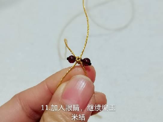 中国结论坛 金色圣诞驯鹿的简单编法 驯鹿怎么画简单又好看,圣诞驯鹿简笔画图片 图文教程区 111041zargcq5q1rmq5751