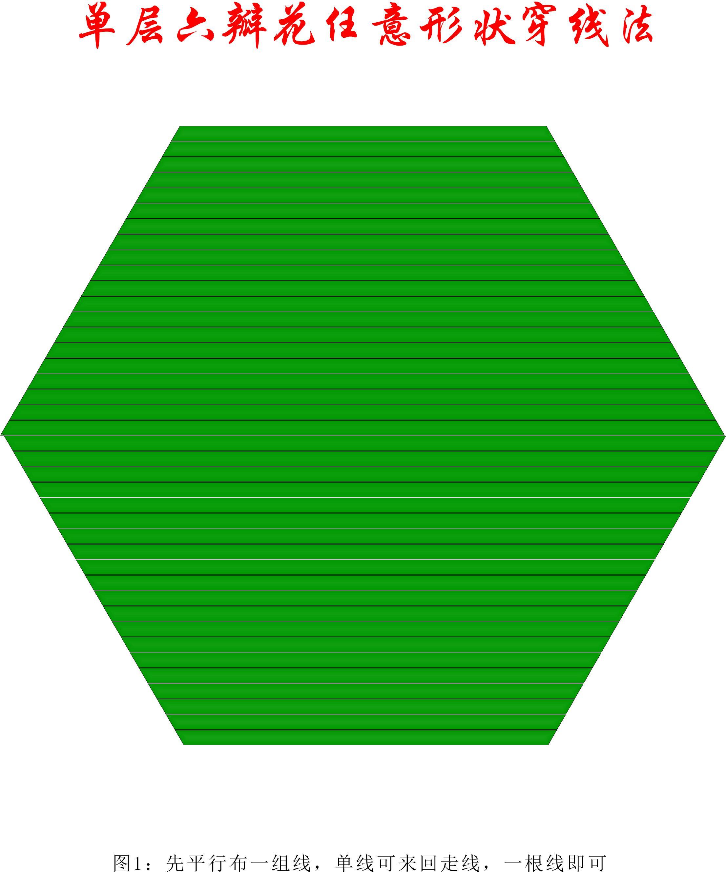 中国结论坛 单层叠压六瓣花任意形状穿线方法 1264,盘长结 丑丑徒手编结 200902phgqh1hn5cp9b05p