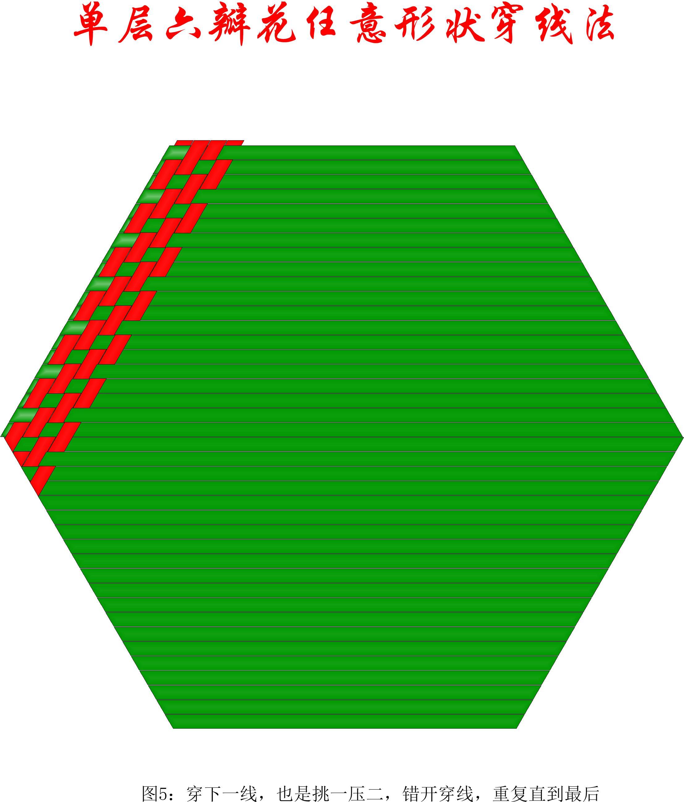 中国结论坛 单层叠压六瓣花任意形状穿线方法 1264,盘长结 丑丑徒手编结 200903ll4w9w9mlqi0lqz8