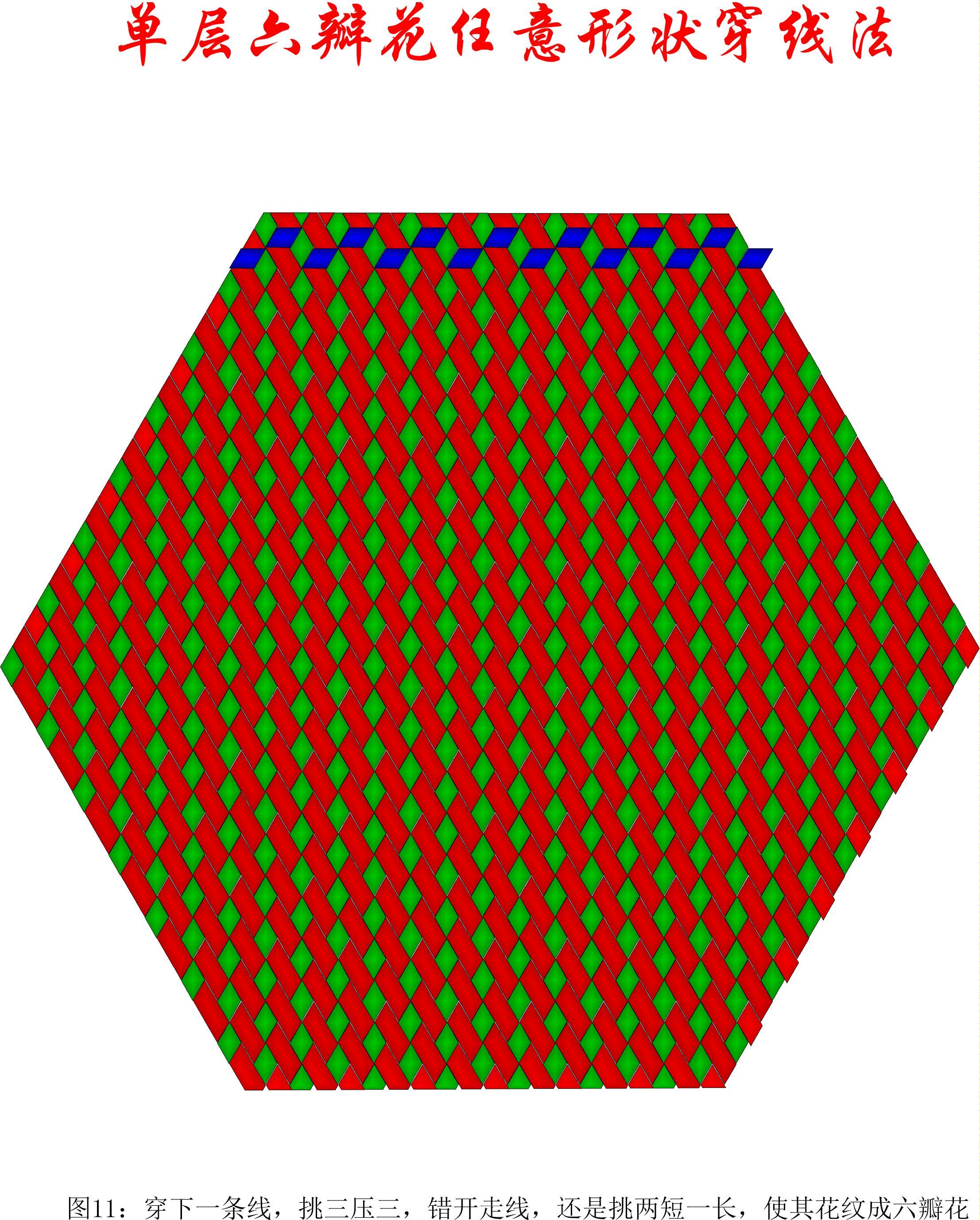 中国结论坛 单层叠压六瓣花任意形状穿线方法 1264,盘长结 丑丑徒手编结 200906d8tqqpbnbyrqeoqf