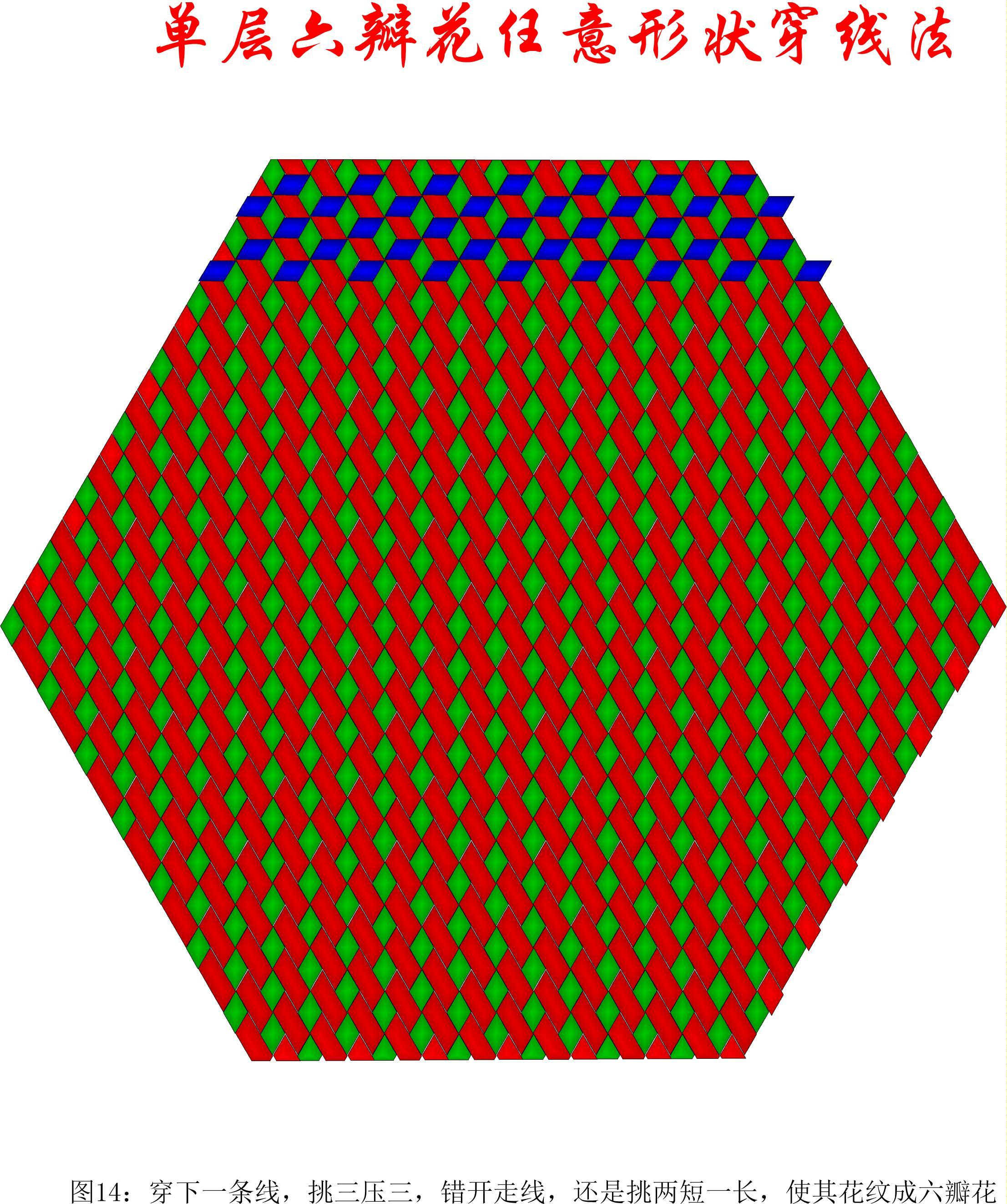 中国结论坛 单层叠压六瓣花任意形状穿线方法 1264,盘长结 丑丑徒手编结 200907tyaba1b7bo2jzbww